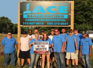 Front Row: L to R - Gary, Justin, Manny, Amy (owner); Alex, Adam, Michael, Zachary; Back Row: L to R - Tyler, Luke, Payton, Steve, Shawn